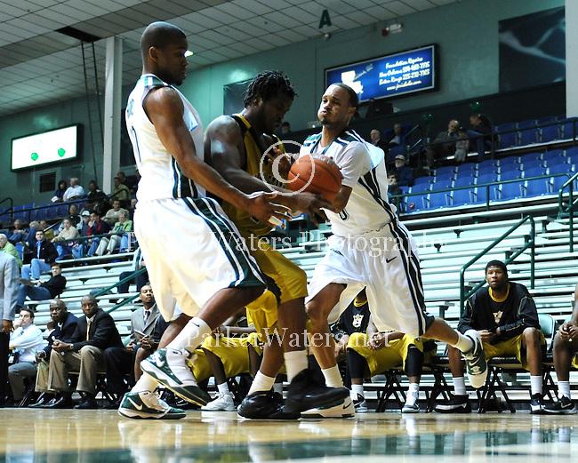 Tulane downs Alabama St., 84-69, in men's basketball action at Fogelman Arena.