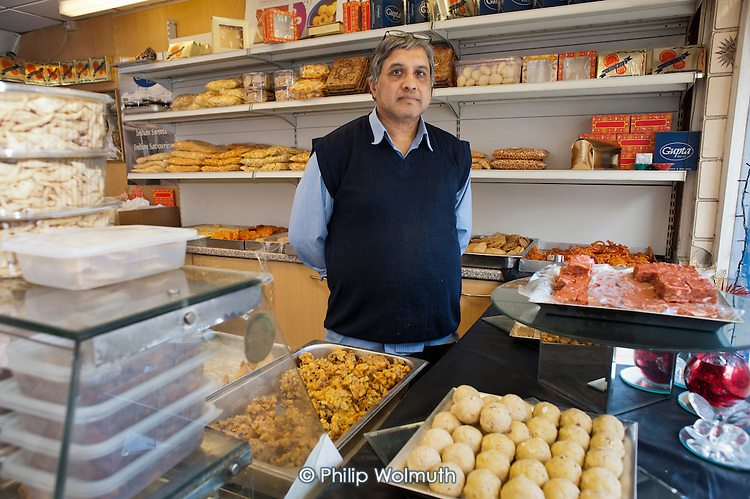 Jain Gupta opened Gupta Confectioners in Drummond Street in 1983.  His business is now within the Safeguarding Area immediately adjacent to the HS2 high-speed rail construction site at Euston station and is likely to become unviable once work starts in 2017.  Residents in the area are demanding compensation for the 10 years of construction work on the same basis as affected residents in rural areas.