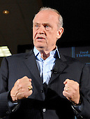 Cedar Rapids, IA - September 8, 2007 -- Cedar Rapids, IA - September 8, 2007 -- Former United States Senator Fred Thompson (Republican of Tennessee), who is a candidate for the Republican nomination for President of the United States, speaks at a campaign event at the Cedar Rapids Marriott, Cedar Rapids, Iowa on Saturday, September 8, 2007. .Credit: Ron Sachs / CNP