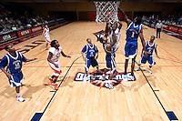 SAN ANTONIO, TX - DECEMBER 27, 2008: The Georgia State University Panthers vs. The University of Texas at San Antonio Roadrunners Men's Basketball at the UTSA Convocation Center. (Photo by Jeff Huehn)