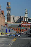 BALTIMORE - AUGUST 31: Practice for the IZOD IndyCar Series  Baltimore Grand Prix at the Baltimore Temporary Street Course on August 31 , 2012 in Baltimore, Maryland. 08/31/12. (Ryan Lasek/Eclipse Sportswire)