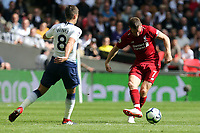 James Milner of Liverpool and Harry Winks of Tottenham Hotspur during Tottenham Hotspur vs Liverpool, Premier League Football at Wembley Stadium on 15th September 2018