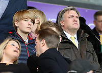 Norwich City chairman Ed Balls looks on from the stands<br /> <br /> Photographer David Shipman/CameraSport<br /> <br /> The EFL Sky Bet Championship - Norwich City v Blackburn Rovers - Saturday 11th March 2017 - Carrow Road - Norwich<br /> <br /> World Copyright &copy; 2017 CameraSport. All rights reserved. 43 Linden Ave. Countesthorpe. Leicester. England. LE8 5PG - Tel: +44 (0) 116 277 4147 - admin@camerasport.com - www.camerasport.com