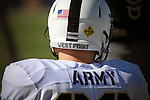 November 7, 2015 - Colorado Springs, Colorado, U.S. - A West Point player prior to the NCAA Football game between the Army Black Knights and the Air Force Academy Falcons at Falcon Stadium, U.S. Air Force Academy, Colorado Springs, Colorado.  Air Force defeats Army 20-3.