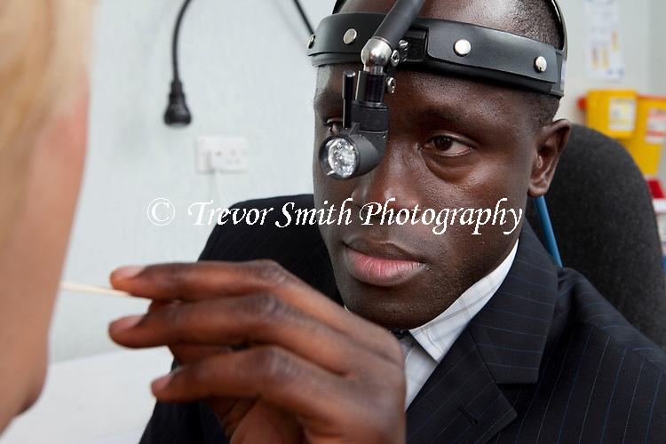 Consultant ENT Head & Neck Surgeon oral examination