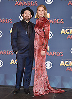 APR 15 53rd Academy Of Country Music Awards - Press Room