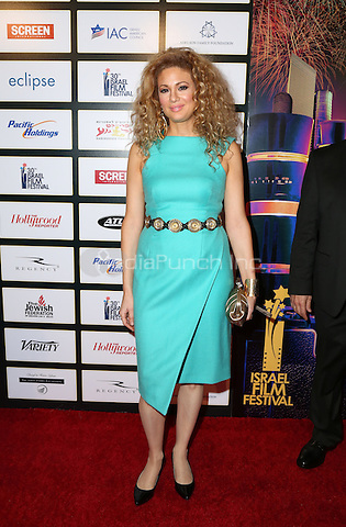 BEVERLY HILLS, CA - NOVEMBER 09: Miri Ben-Ari attends the 30th Israel Film Festival Anniversary Gala Awards Dinner on November 8, 2016 in Beverly Hills, California.  (Credit: Parisa Afsahi/MediaPunch).