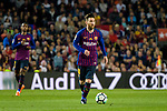 Lionel Messi of FC Barcelona runs with the ball during the La Liga match between Barcelona and Real Sociedad at Camp Nou on May 20, 2018 in Barcelona, Spain. Photo by Vicens Gimenez / Power Sport Images