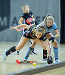 Almere - Zaalhockey  Amsterdam-HGC (v) .    .  TopsportCentrum Almere.    COPYRIGHT KOEN SUYK