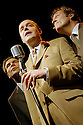Round The Horne Revisited  with Robin Sebastian as Kenneth Williams, Jonathan Rigby as Kenneth Horne, Nigel Harrison as Hugh Paddick opens at the Venue 22/1/03  CREDIT Geraint Lewis
