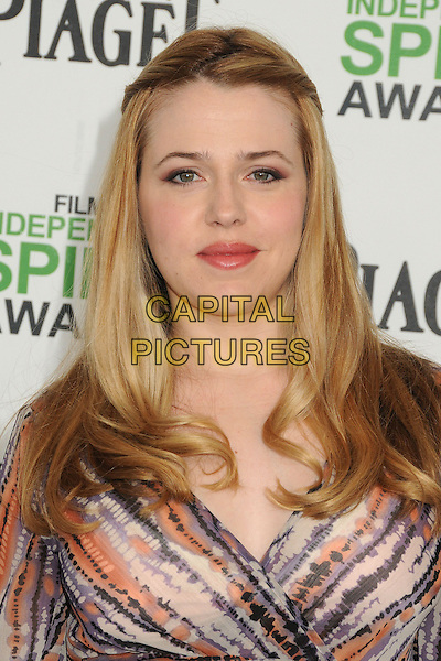 1 March 2014 - Santa Monica, California - Majandra Delfino. 2014 Film Independent Spirit Awards - Arrivals held at Santa Monica Beach. <br /> CAP/ADM/BP<br /> &copy;Byron Purvis/AdMedia/Capital Pictures