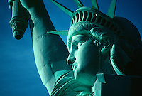 the Statue of Liberty, New York harbor, New York City