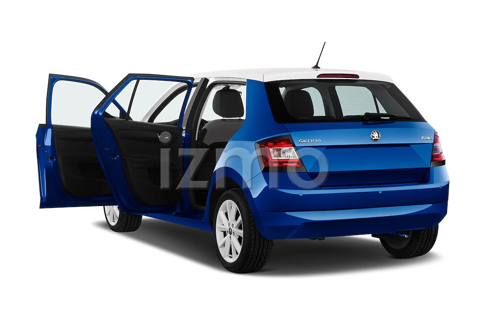 Car images of a 2015 Skoda Fabia Ambition 5 Door Hatchback Doors