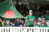 Flying the Tigers flag during Pakistan vs Bangladesh, ICC World Cup Cricket at Lord's Cricket Ground on 5th July 2019