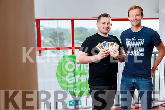 Niall Harty and Ross McDowell (Co founders of Origin Protein Bars), Farranfore