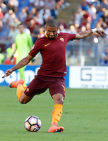 Calcio, Serie A: Roma vs Udinese. Roma, stadio Olimpico, 20 agosto 2016.<br /> Roma&rsquo;s Bruno Peres in action during the Italian Serie A football match between Roma and Udinese at Rome's Olympic stadium, 20 August 2016. Roma won 4-0.<br /> UPDATE IMAGES PRESS/Riccardo De Luca