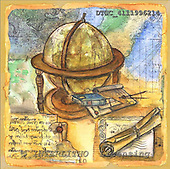 Hans, MODERN, paintings+++++,DTSC4111996214,#N# moderno, arte, illustrations, pinturas ,everyday