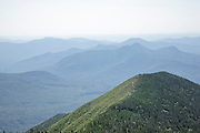 Signal Ridge from Mount Carrigain during the summer months. Located in the White Mountains, New Hampshire USA. Named after Phillip Carrigain, who was NH Secretary of State from 1805-1810.