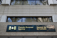 A Canada Revenue Agency (Agence du revenu du Canada) office is pictured in Winnipeg Sunday May 22, 2011. The Canada Revenue Agency (CRA) (formerly Revenue Canada and the Canada Customs and Revenue Agency) is a federal agency that administers tax laws for the Government of Canada and for most provinces and territories, international trade legislation, and various social and economic benefit and incentive programs delivered through the tax system.