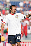 23 May 2006: Landon Donovan (USA). The United States Men's National Team lost 1-0 to their counterparts from Morocco at the Nashville Coliseum in Nashville, Tennessee in a men's international friendly soccer game.
