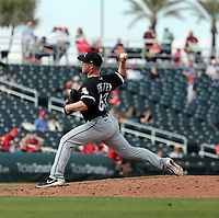 Matt Foster - Chicago White Sox 2020 spring training (Bill Mitchell)