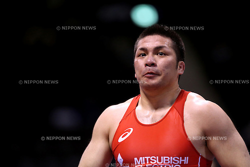 Akira Osaka, <br /> MAY 27, 2016 - Wrestling : <br /> Meiji Cup All Japan Invitational Wrestling Championships 2016 <br /> Men's Greco-Roman Style -98kg <br /> at 2nd Yoyogi Gymnasium, Tokyo, Japan. <br /> (Photo by AFLO SPORT)