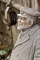 Old sailor statue, Catalina Island, California