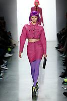 Jeremy Scott<br /> Soo Joo<br /> New York Fashion Week <br /> FW18<br /> <br /> New York Fashion Week,  New York, USA in February 2018.<br /> CAP/GOL<br /> &copy;GOL/Capital Pictures