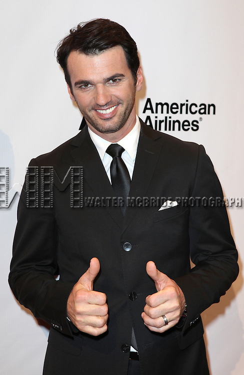 Tony Dovolani attending The Museum of Moving Image salutes Hugh Jackman at Cipriani Wall Street in New York on December 11, 2012