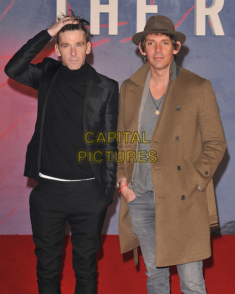 Paul Anderson &amp; Lukas Haas attend the &quot;The Revenant&quot; UK film premiere, Empire cinema, Leicester Square, London, UK, on Thursday 14 January 2016.<br /> CAP/CAN<br /> &copy;Can Nguyen/Capital Pictures