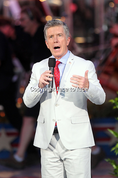 WASHINGTON, DC - JULY 03: Tom Bergeron during A Capitol Fourth 2013 Independence Day Concert rehearsals at the National Mall on July 3, 2013 in Washington, DC.<br />