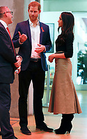 01 December 2017 - Prince Harry and Meghan Markle tour a Terrence Higgins Trust World AIDS Day charity fair at Nottingham Contemporary in Nottingham. Photo Credit: ALPR/AdMedia