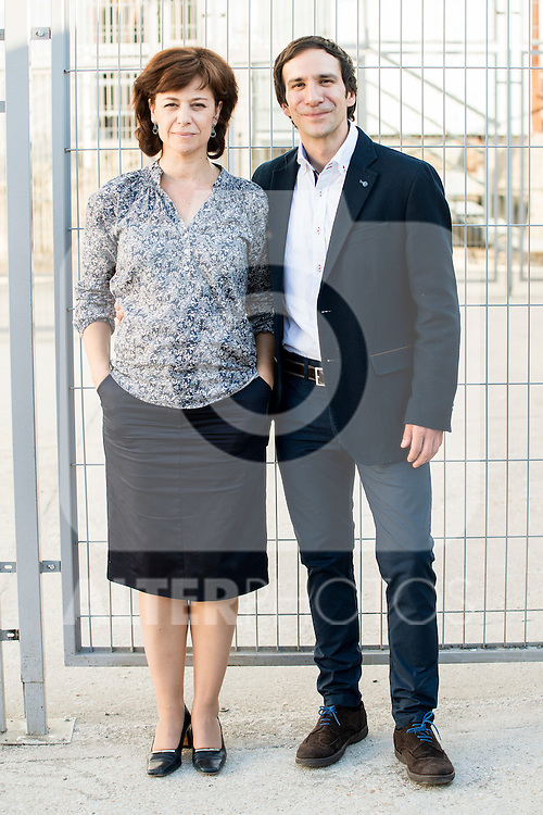 Maria Salgueiro and Daniel Ortiz during the photoshoot at the end of the first season of &quot;Vis a Vis&quot; in Madrid, Spain. June 18, 2015.<br />  (ALTERPHOTOS/BorjaB.Hojas)