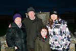 Dawn Mass in Lixnaw: pictured at the dawn Mass in Kiltomey graveyard on Easter Sunday morning wereBridie & Mike Joe Quinlan & Molly & Majella Duignan.