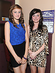 Rebecca Howell and Nikkita Kelly pictured at Joanne Kelly's 40th birthday in the Corner Bar Dunleer. Photo: Colin Bell/pressphotos.ie