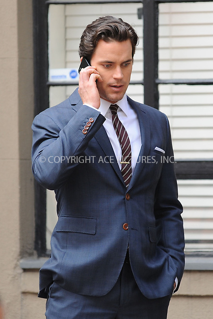 WWW.ACEPIXS.COM<br /> August 14, 2013 New York City<br /> <br /> Matt Bomer on the set of White Collar in New York City on August 14,  2013.<br /> <br /> By Line: Kristin Callahan/ACE Pictures<br /> ACE Pictures, Inc.<br /> tel: 646 769 0430<br /> Email: info@acepixs.com<br /> www.acepixs.com<br /> Copyright:<br /> Kristin Callahan/ACE Pictures