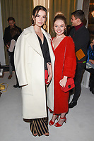 Margaret Clunie and Nell Hudson at the Jasper Conran Spring Summer 2018 show as part of London Fashion Week, London, UK. <br /> 16 September  2017<br /> Picture: Steve Vas/Featureflash/SilverHub 0208 004 5359 sales@silverhubmedia.com
