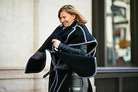 Elizabeth Von Guttman attends Day 4 of New York Fashion Week on Feb 15, 2015 (Photo by Hunter Abrams/Guest of a Guest)