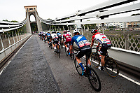Picture by Alex Whitehead/SWpix.com - 04/09/2018 - Cycling - OVO Energy Tour of Britain - Stage 3: Bristol to Bristol - Clifton Suspension Bridge.