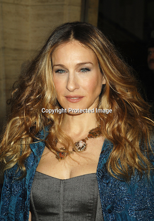 Sarah Jessica Parker..arriving at the Film Society of Lincoln Center's 34th  Gala Tribute to Diane Keaton on April 9, 2007 ...Robin Platzer, Twin Images