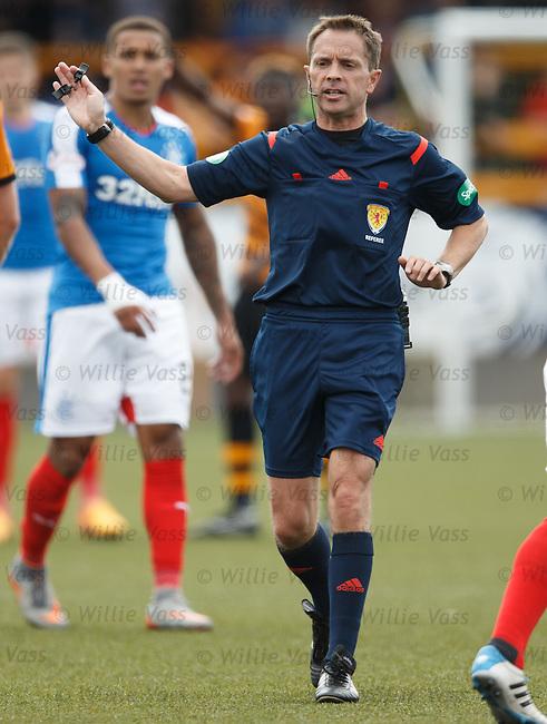 Crawford Allan, referee