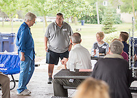 Photography of he Norh Hennepin Area Chamber of Commerce's Picnic in the Park, held at Brooklyn Park's Central Park across from City Hall.