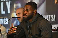 Joshua Buatsi during a Press Conference at Glaziers Hall on 14th February 2020