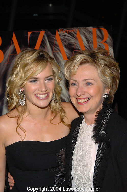 Kate Winslett and Hillary Clinton