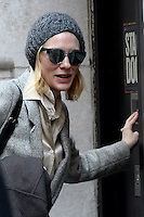 www.acepixs.com<br /> January 25, 2017 New York City<br /> <br /> Cate Blanchett arrives to a performance of 'The Present' at the Barrymore Theatre on Broadway on January 25, 2017 in New York City.<br /> <br /> Credit: Kristin Callahan/ACE Pictures<br /> <br /> <br /> Tel: 646 769 0430<br /> e-mail: info@acepixs.com
