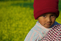 Child near Khokana Village Kathmandu Valley, Nepal