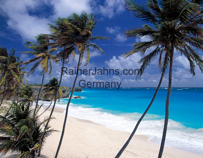 BRB, Barbados, Bottom Bay: einsamer Strand an der Suedostkueste | BRB, Barbados, Bottom Bay: secluded beach