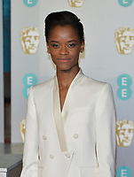 LONDON, UK - FEBRUARY 10:  Letitia Wright at the 72nd British Academy Film Awards held at Albert Hall on February 10, 2019 in London, United Kingdom. <br /> CAP/MPI/IS<br /> ©IS/MPI/Capital Pictures