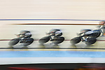 Japan team group (JPN), Ambience shot, <br /> AUGUST 28, 2018 - Cycling - Track : Women's Team Pursuit Bronze final at Jakarta International Velodrome during the 2018 Jakarta Palembang Asian Games in Jakarta, Indonesia. <br /> (Photo by MATSUO.K/AFLO SPORT)