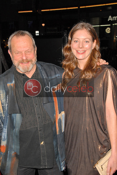 Terry Gilliam and wife Amy<br />